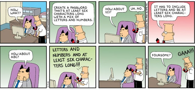 Dilbert Passwords