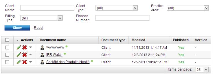 Listing Mode Sample Custom Filter